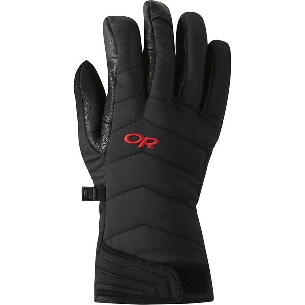 アウトドアリサーチ メンズ 手袋 アクセサリー Ascendant Sensor Glove Black/Tomato