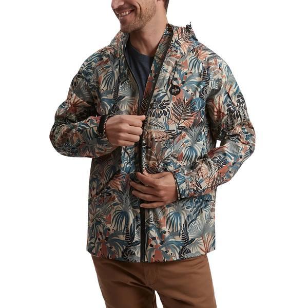 ハウラーブラザーズ メンズ ジャケット&ブルゾン アウター Aguacero Rain Shell - Men's Glades Print