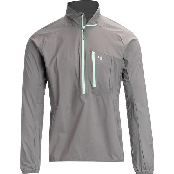 マウンテンハードウェア メンズ ジャケット&ブルゾン アウター Kor Preshell Pullover Jacket - Men's Manta Grey