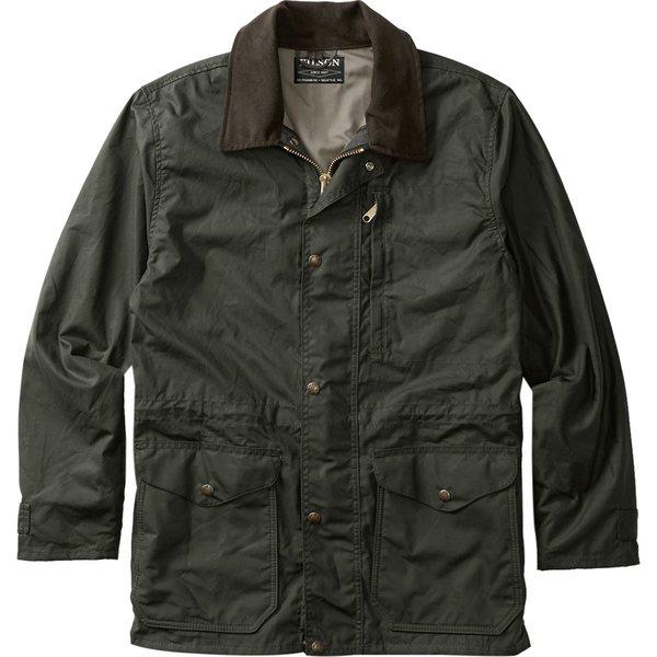 フィルソン メンズ ジャケット&ブルゾン アウター Cover Cloth Mile Marker Coat - Men's Otter Green