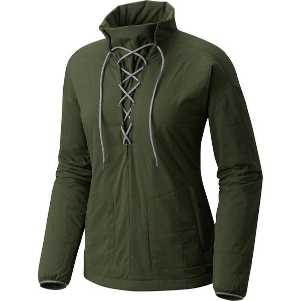 マウンテンハードウェア レディース ジャケット&ブルゾン アウター Escape Insulated Pullover Jacket - Women's Surplus Green
