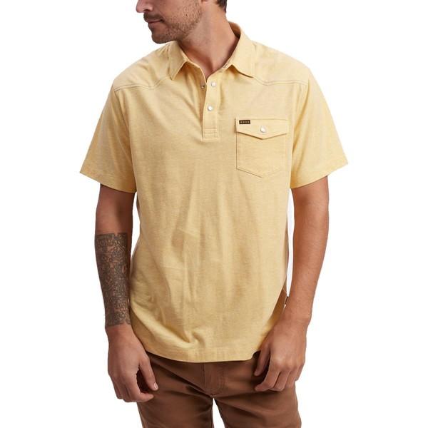 ハウラーブラザーズ メンズ ポロシャツ トップス Ranchero Polo Shirt - Men's Sunflower Heather