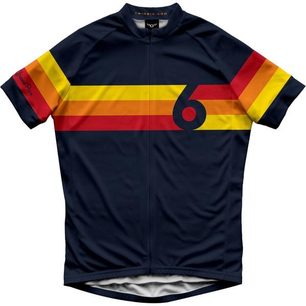 ツインシックス メンズ サイクリング スポーツ The Grand Prix Jersey - Men's Blue