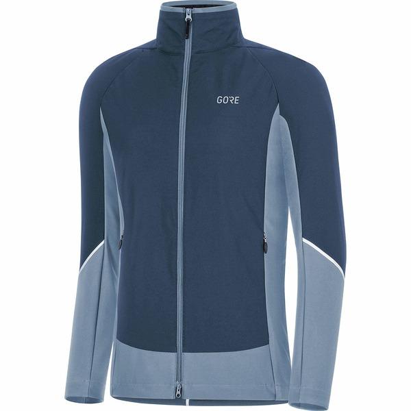 ゴアウェア レディース サイクリング スポーツ C5 GORE-TEX INFINIUM Partial Insulated Jacket - Women's Deep Water Blue/Cloudy Blue