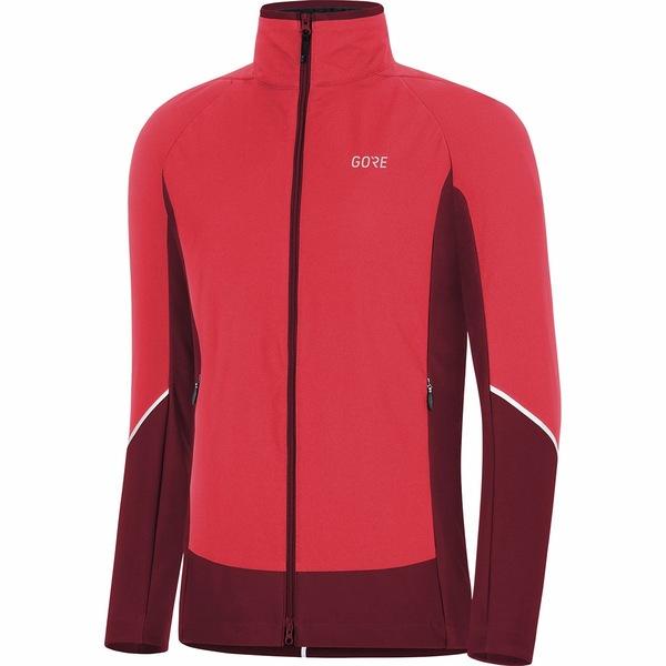 ゴアウェア レディース サイクリング スポーツ C5 GORE-TEX INFINIUM Partial Insulated Jacket - Women's Hibiscus Pink/Chestnut Red