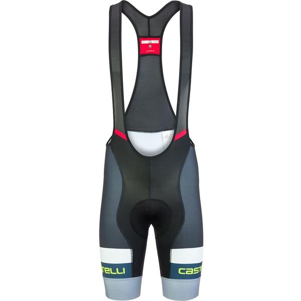 カステリ メンズ サイクリング スポーツ Competizione Limited Edition Bib Short - Men's Vortex Gray