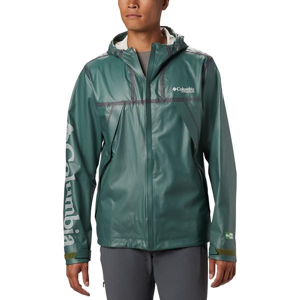 コロンビア メンズ ジャケット&ブルゾン アウター OutDry EX Eco II Tech Shell Jacket - Men's Thyme Green