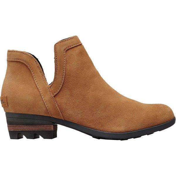 ソレル レディース ブーツ&レインブーツ シューズ Lolla Cut Out Boot - Women's Camel Brown/Black