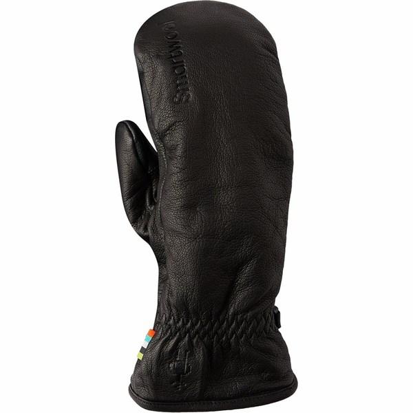スマートウール メンズ 手袋 アクセサリー Ridgeway Sherpa Lined Mitten Black