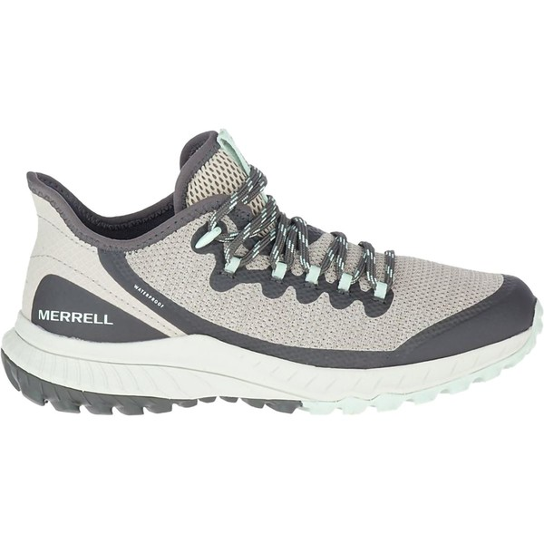 メレル レディース スニーカー シューズ Bravada Waterproof Hiking Shoe - Women's Aluminum