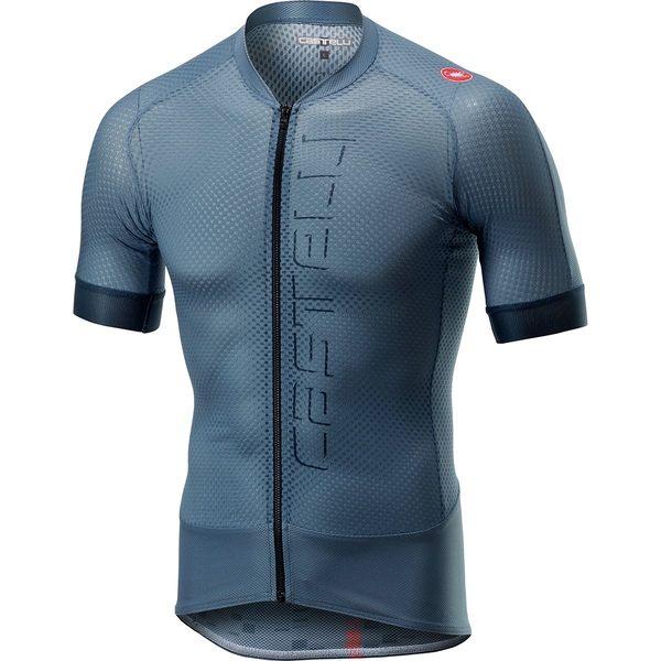 カステリ メンズ サイクリング スポーツ Climber's 2.0 Full-Zip Jersey - Men's Light Steel Blue