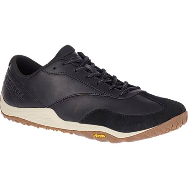 メレル メンズ スニーカー シューズ Trail Glove 5 Leather Shoe - Men's Black