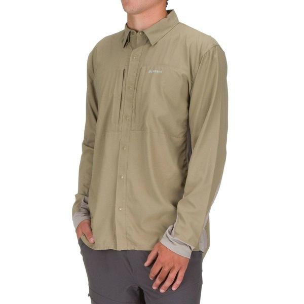 シムズ メンズ シャツ トップス Intruder BiComp Shirt - Men's Tan