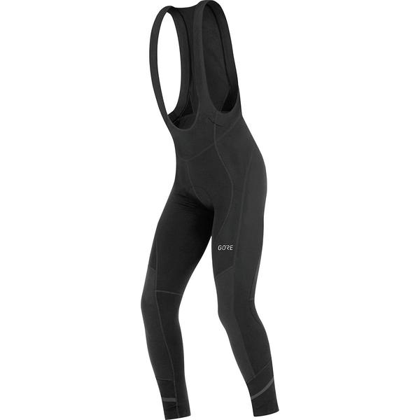 ゴアウェア メンズ サイクリング スポーツ C5 Thermo Bib Tights+ - Men's Black
