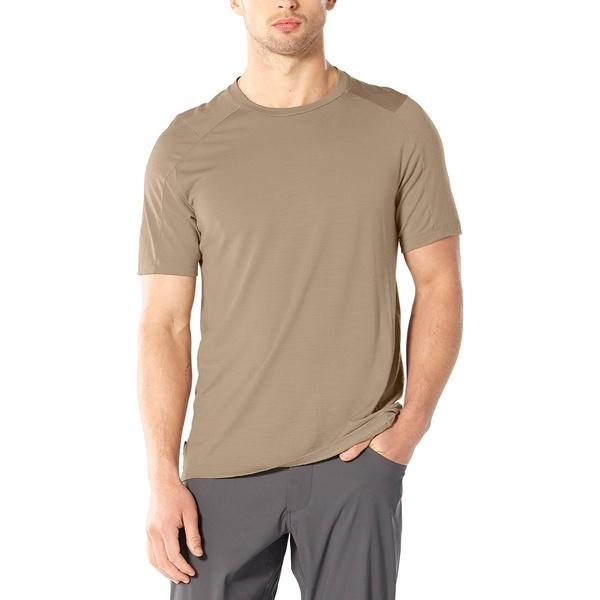 アイスブレーカー メンズ シャツ トップス Nature Dye Galen Short-Sleeve Crew Shirt - Men's Almond