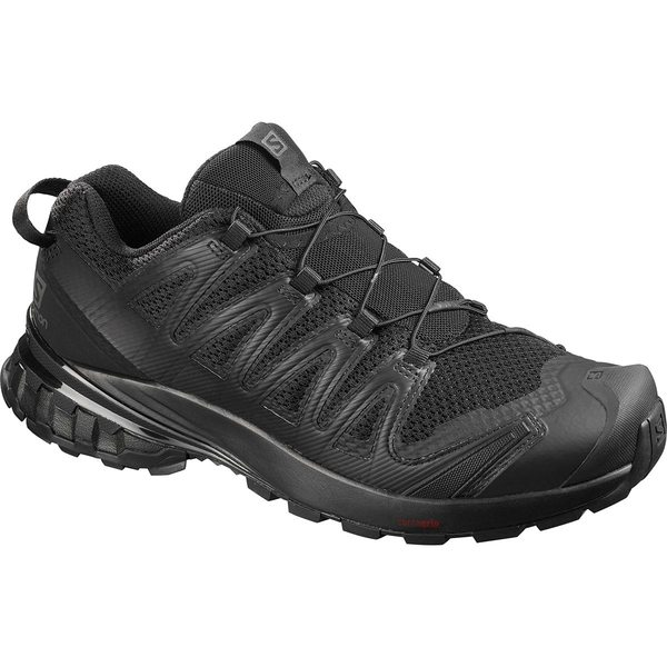 サロモン メンズ スニーカー シューズ XA Pro 3D V8 Trail Running Shoe - Men's Black/Black/Black