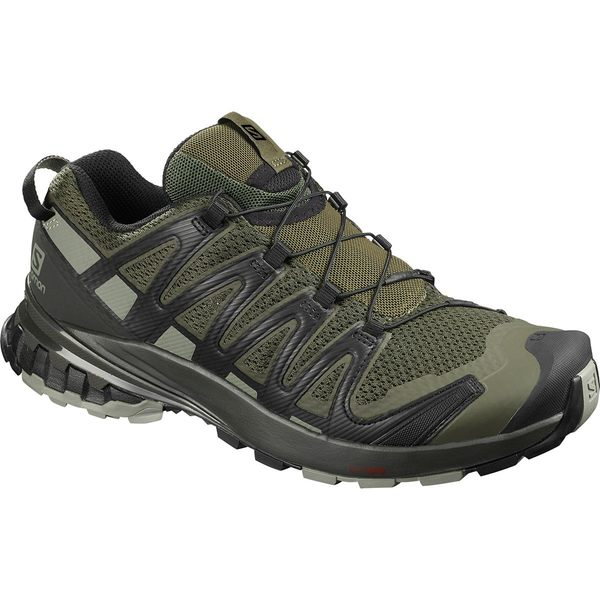 サロモン メンズ スニーカー シューズ XA Pro 3D V8 Trail Running Shoe - Men's Grape Leaf/Peat/Shadow