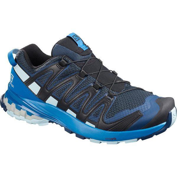 サロモン メンズ スニーカー シューズ XA Pro 3D V8 Trail Running Shoe - Men's Sargasso Sea/Imperial Blue/Angel Falls