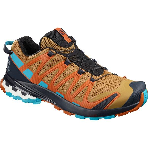 サロモン メンズ スニーカー シューズ XA Pro 3D V8 Trail Running Shoe - Men's Bistre/Navy Blazer/Bluebird