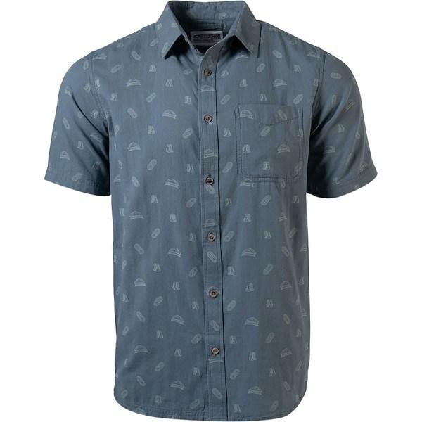 マウンテンカーキス メンズ シャツ トップス Camper Short-Sleeve Shirt - Men's Dusk