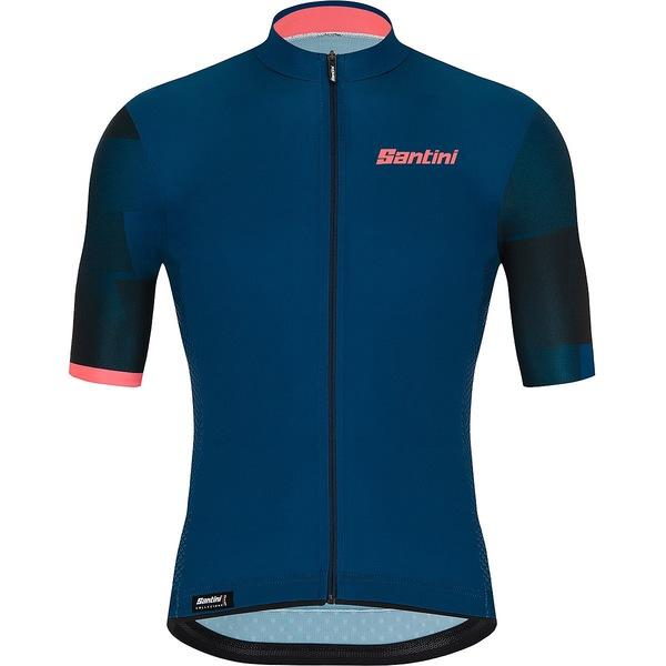 サンティーニ メンズ サイクリング スポーツ Mito Spillo Jersey - Men's Space Blue