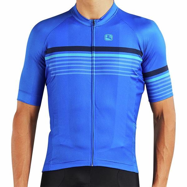 ジョルダーノ メンズ サイクリング スポーツ Moda Tenax Pro Short-Sleeve Jersey - Men's Sette Oxford Blue