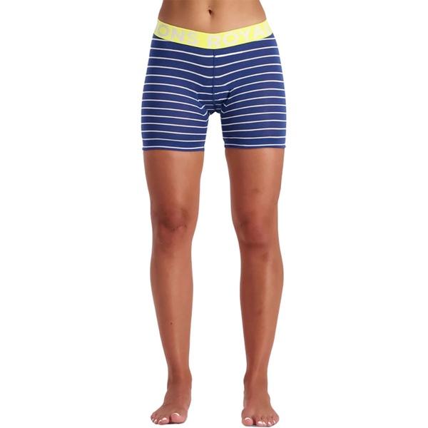 モンスロイヤル レディース サイクリング スポーツ Momentum Short Liner - Women's Ink Stripe