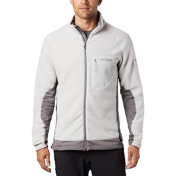 コロンビア メンズ ジャケット&ブルゾン アウター Titanium Titan Pass 2.0 II Fleece Jacket - Men's Cool Grey/City Grey