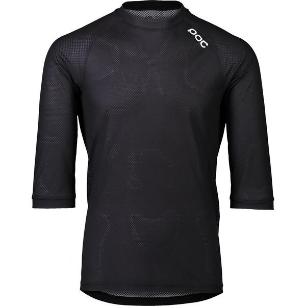 ピーオーシー メンズ サイクリング スポーツ MTB Pure 3/4-Sleeve Jersey - Men's Uranium Black