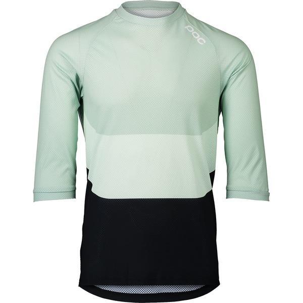 ピーオーシー メンズ サイクリング スポーツ MTB Pure 3/4-Sleeve Jersey - Men's Apophyllite Multi Green
