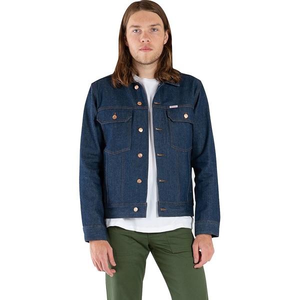 トポ・デザイン メンズ ジャケット&ブルゾン アウター Trucker Jacket - Men's Blue Denim