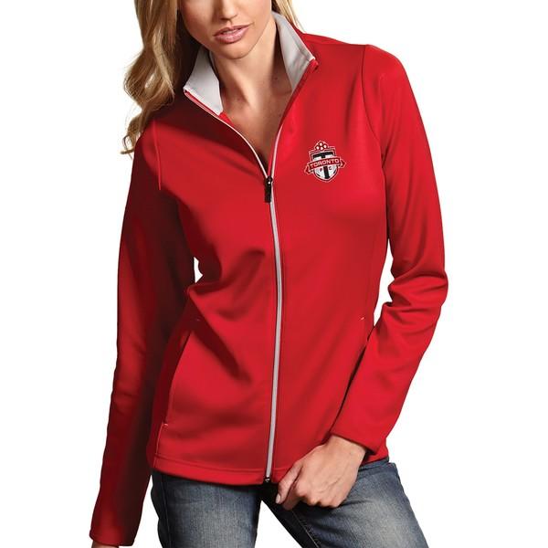 アンティグア レディース ジャケット&ブルゾン アウター Toronto FC Antigua Women's Leader Full Zip Jacket Red