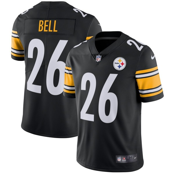ナイキ メンズ シャツ トップス Le'Veon Bell Pittsburgh Steelers Nike Vapor Untouchable Limited Player Jersey Black