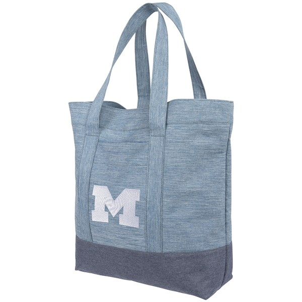 フォコ レディース バックパック・リュックサック バッグ Michigan Wolverines Women's Chambray Tote Bag Unknown