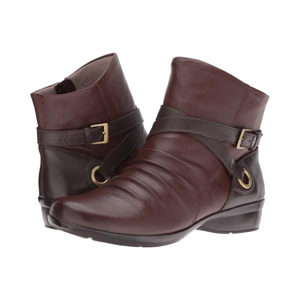 ナチュライザー レディース ブーツ&レインブーツ シューズ Cycle Bridal Brown/Oxford Brown Leather