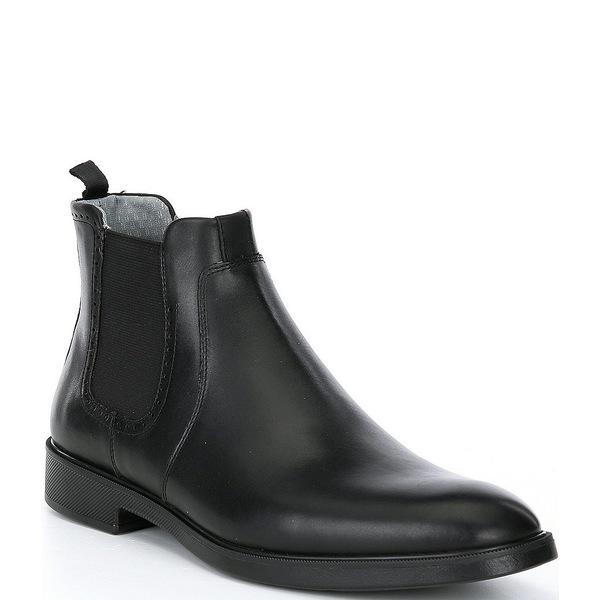 ジョンストンアンドマーフィー メンズ シューズ 低価格化 ブーツ レインブーツ Black 全商品無料サイズ交換 Waterproof Boots Maddox Chelsea Men's XC4 ご予約品