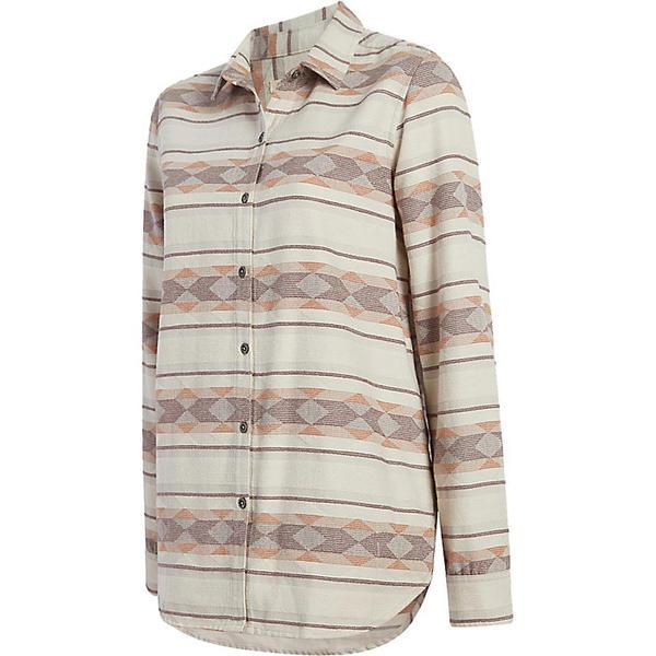 ウール リッチ レディース シャツ トップス Woolrich Women's Quinella Jacquard Shirt Salt Water Grey