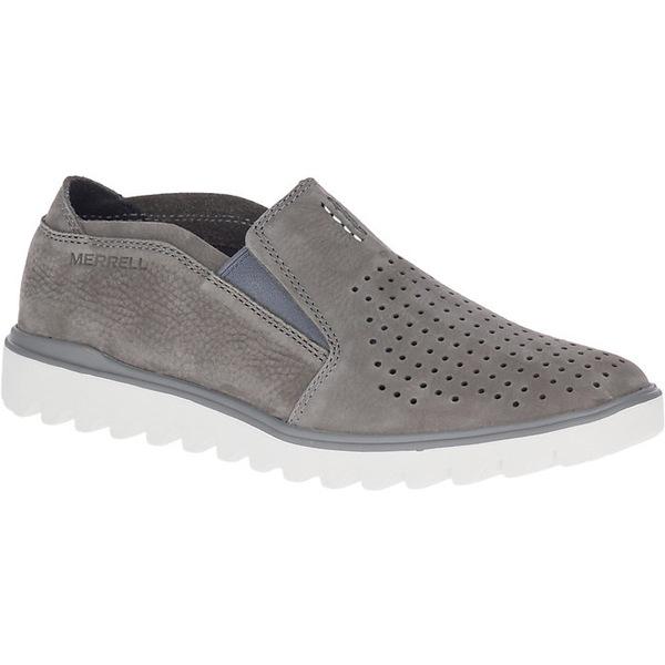 メレル メンズ スニーカー シューズ Merrell Men's Downtown Moc Shoe Charcoal