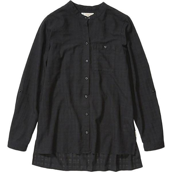 エクスオフィシオ レディース シャツ トップス ExOfficio Women's BugsAway Collette LS Shirt Black