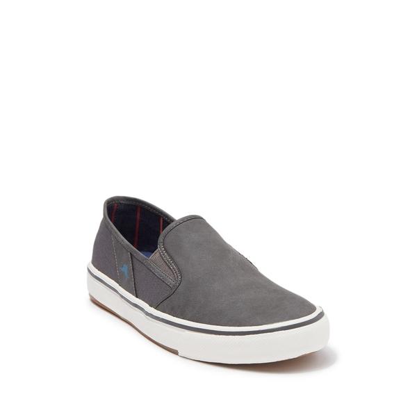 トッミーバハマ メンズ シューズ スニーカー チープ 保障 DARK GREY 全商品無料サイズ交換 Pascale PU Slip-On Sneaker