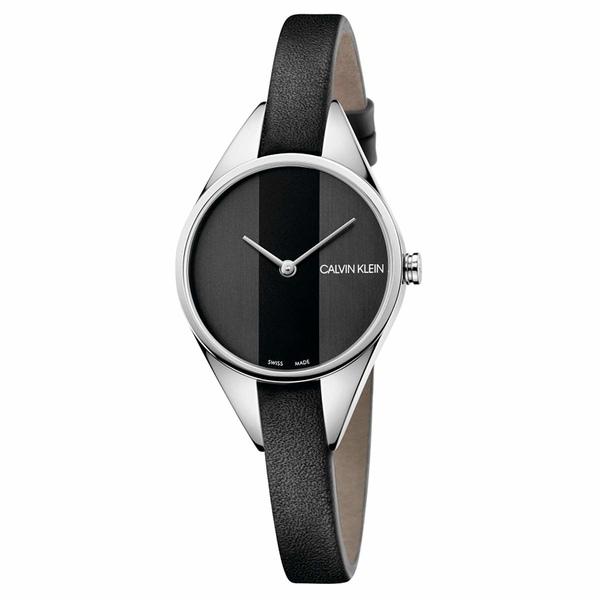 カルバンクライン レディース 腕時計 アクセサリー Rebel Watch - K8P231C1 Black