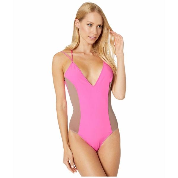 キキデモントパーネス レディース シャツ トップス Le Shock Bodysuit Hot Pink
