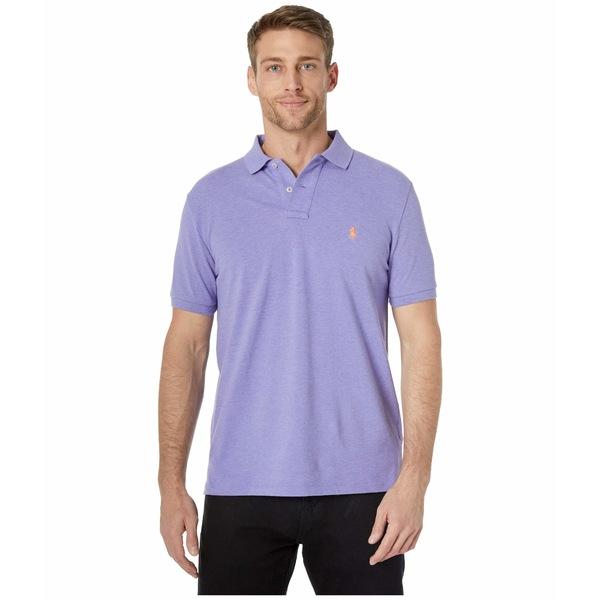 ラルフローレン メンズ シャツ トップス Custom Slim Fit Mesh Polo Purple 2
