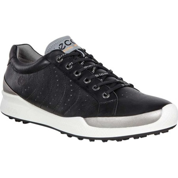 完成品 エコー メンズ スニーカー シューズ Biom Hybrid Hydromax Golf Shoe Black/Black Solid Yak Leather, 下町トレーディング 0537d20d
