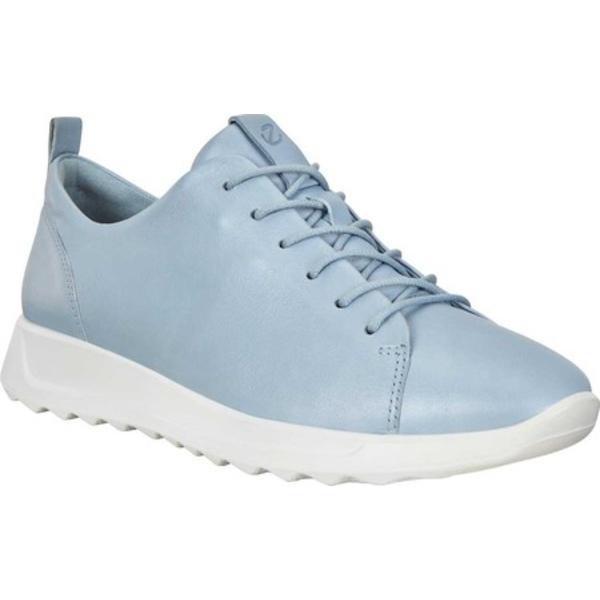 エコー レディース スニーカー シューズ Flexure Runner Tie Sneaker Dusty Blue Metallic Nappa Leather