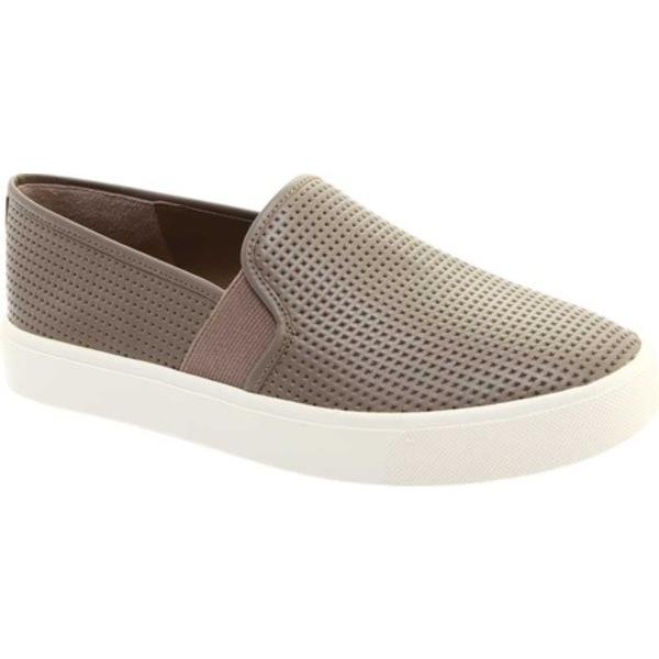 ヴィンス レディース スニーカー シューズ Blair 5 Slip-On Sneaker Woodsmoke Leather