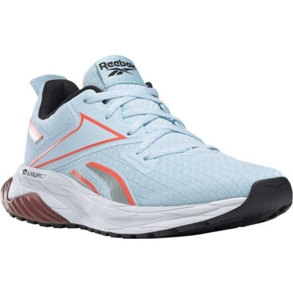 リーボック レディース スニーカー シューズ Liquifect 180 SPT Running Sneaker Glass Blue/White/Vivid Orange