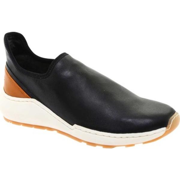 ヴィンス レディース スニーカー シューズ Marlon Slip On Sneaker Black Stretch Nappa Leather