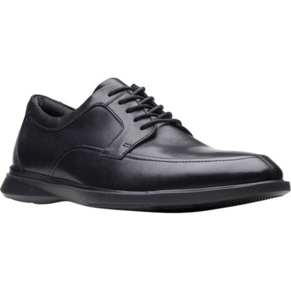 クラークス メンズ ドレスシューズ シューズ Un Lipari Walk Oxford Black Full Grain Leather