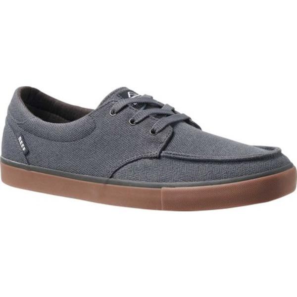 リーフ メンズ ブーツ&レインブーツ シューズ Deckhand 3 TX Sneaker Grey/Gum Cotton